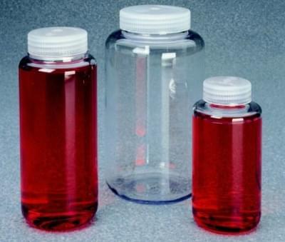Fľaša centrifugačná, PC, max. zátěž 7 100 × g, 1 000 ml, výška 180 mm
