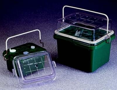 Box chladiaci labtop, 0 ° C, určené pre skúmavky 12 - 13 ml