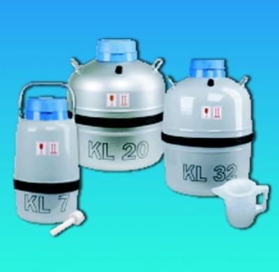 Nádoba Dewarova laboratórna (zásobník na kvapalný dusík - LN2), 21 l