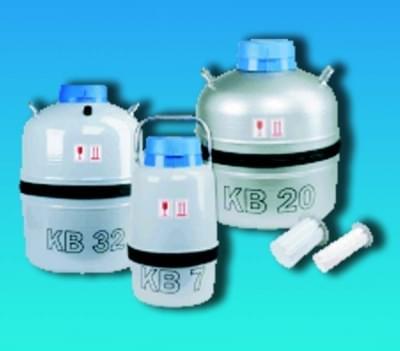 Nádoba dewarova biologická (zásobník na kvapalný dusík - LN2), 6,6l