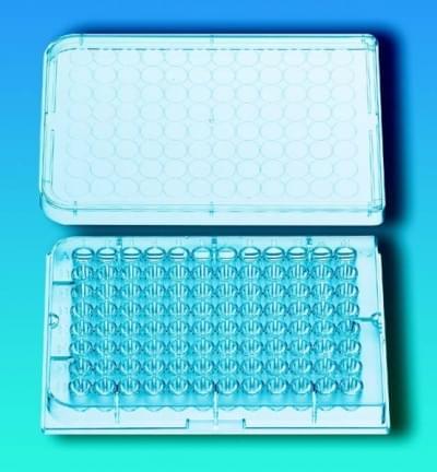 Doštičky mikrotitračné, 96 jamiek, sterilné, PS, okrúhly profil jamky