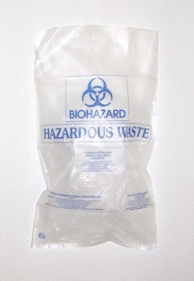 Vrece na biologický odpad BIOHAZARD