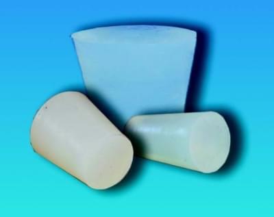Zátka silikónová, kónická, pre teploty -60 ... +220 ° C, horný pr. 14,5 mm, dolný pr. 10,5 mm