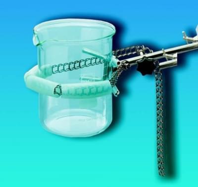 Držiak na kadičky, reťazový, nerez oceľ, dĺžka reťaze 700 mm, upínací priemer 50 - 160 mm