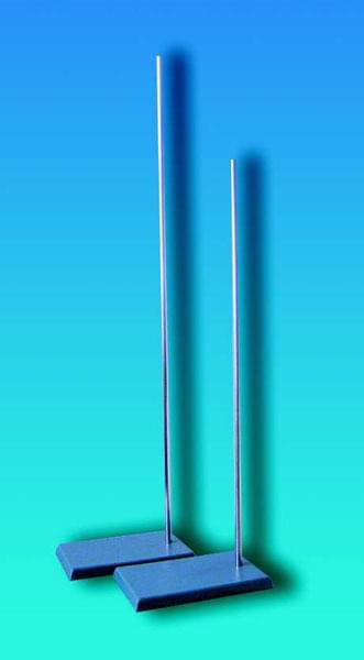 Stojan laboratórny s kovovou doskou a skrutkovacou tyčou, dĺžka tyče 750 mm