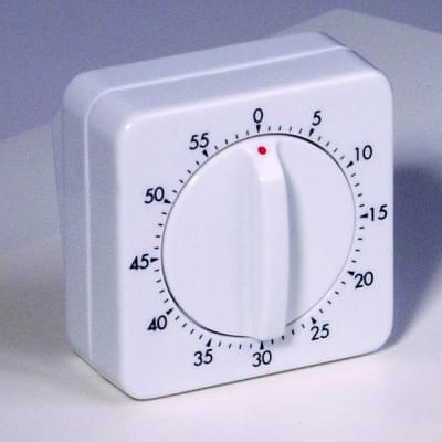 Minútka mechanická, časový rozsah 0 - 60 minút