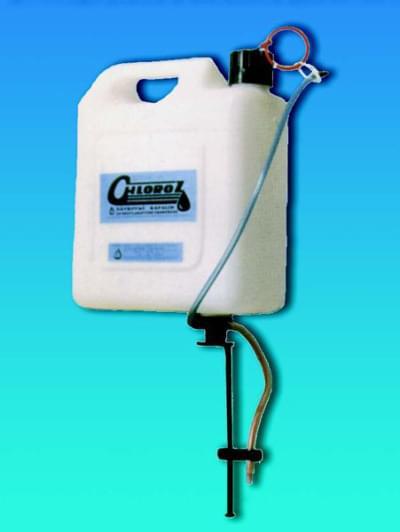 Dávkovač chlóru CHLOROZ - pre kontinuálne dávkovanie kvapalín, 5 litrov