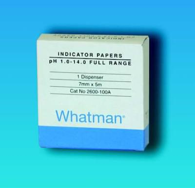 Indikátorové papírky WHATMAN, pH 0,5 - 5,5, Typ - SR