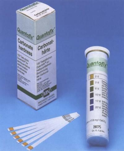 Prúžky testovacie QUANTOFIX - pre semikvantitatívnu analýzu, CO32