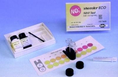 Kity analytické VISOCOLOR ECO - pre kolometrickú alebo odmernú analýzu vody, NH4+