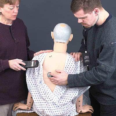 LF04004 - Rozšíření figuríny Geri pro nácvik auskultace