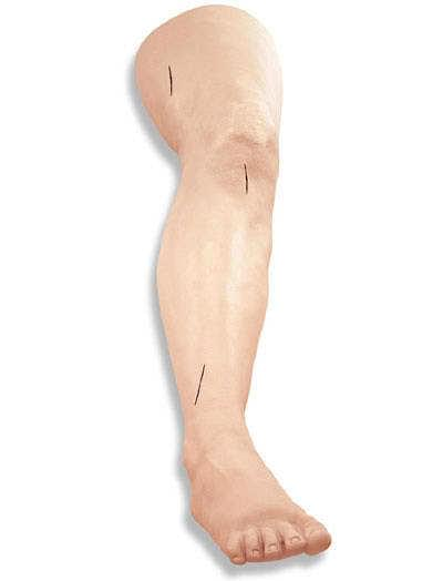 LF01034 - Noha pre nácvik šitia
