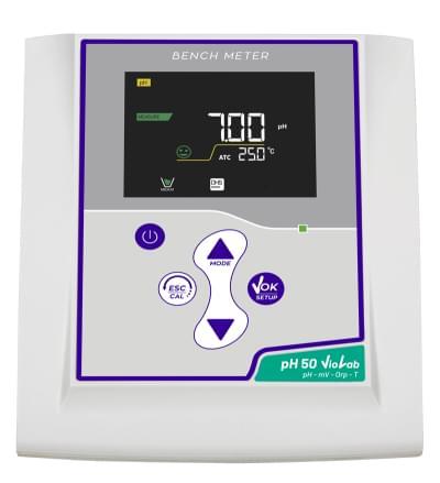 pH meter pH 50 Violab DHS s pH elektródou CHS Chemflex NTC30