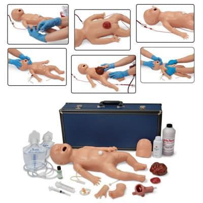 LF01400 - Simulátor novorodenca pre nácvik ošetrovatelských schopností a rozšírenej resuscitácie