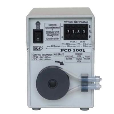 PCD1061 - Peristaltické čerpadlo, základní provedení, manuální číslicové nastavení výkonu