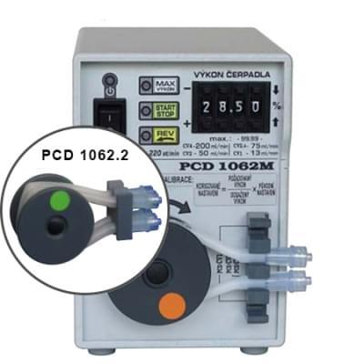 PCD1062.2 - Peristaltické čerpadlo dvouhadičkové, Funkce REV, MAX, START/STOP