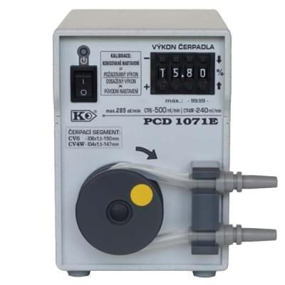 PCD1071 - Peristaltické čerpadlo, základní provedení, manuální číslicové nastavení výkonu