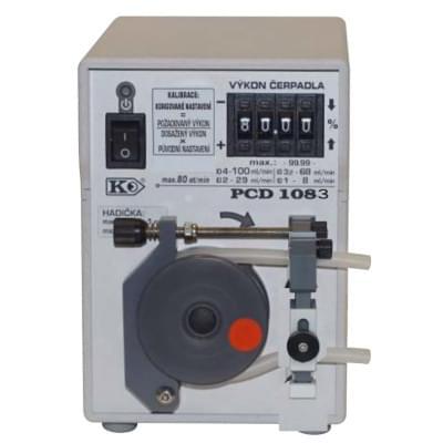 PCD1083 - Peristaltické čerpadlo s opěrnou dráhou, základní provedení, manuální číslicové nastavení výkonu