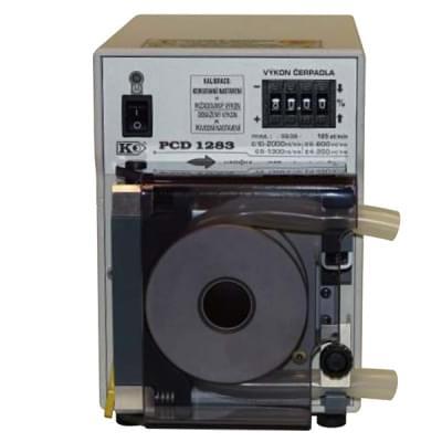PCD1283 - Peristaltické čerpadlo s opěrnou dráhou, základní provedení, manuální číslicové nastavení výkonu