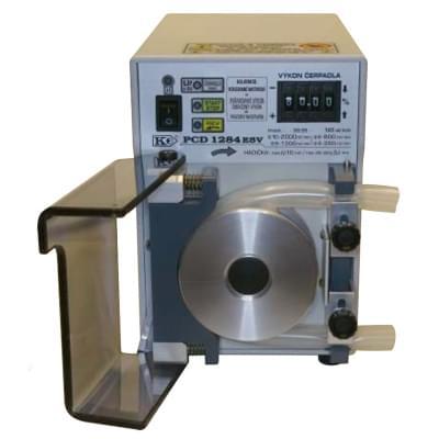 PCD1284 - Peristaltické čerpadlo s opěrnou dráhou, Funkce REV, MAX, START/STOP