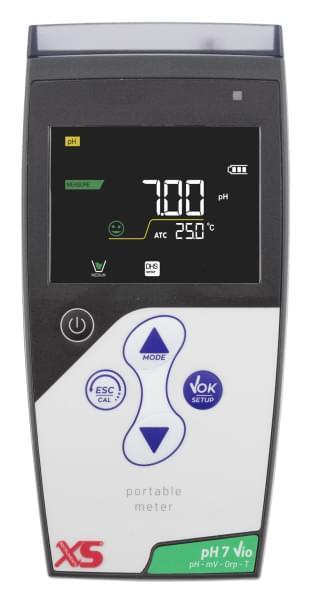 Prenosný pH metr - pH 7 Vio + pH sonda CHS Chemflex