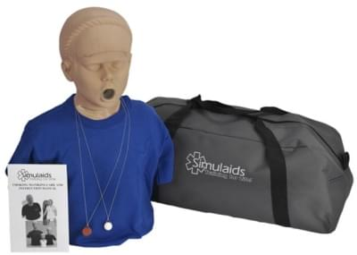 PP01615 - Figurína adolescenta pro nácvik odstraňování cizích předmětů z dýchacích cest