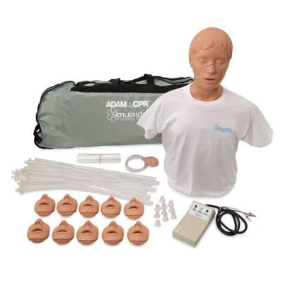 PP02300 - Resuscitační figurína Adam s elektronikou a přenosným vakem