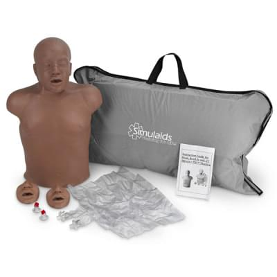 PP02803 - Resuscitační výcviková figurína Paul, černá barva pleti