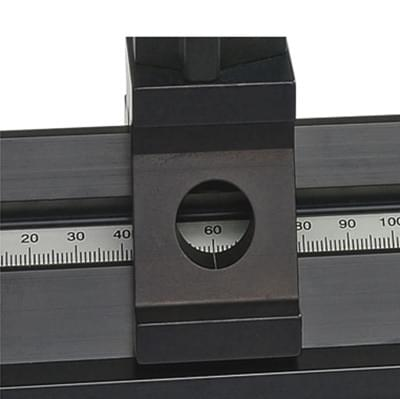 Přesná optická lavice D, 1 000 mm
