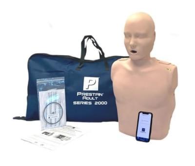 Prestan Professional 2000 - KPR figurína dospelého človeka s KPR monitorom a Bluetooth pripojením