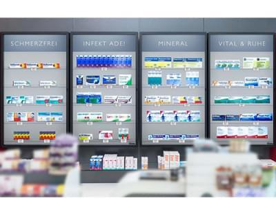 Rowa Vmotion - Nový spôsob prezentácie produktov v lekárňach