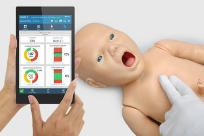 Simulátor novorodenca Pedi pre záchranu života + OMNI2