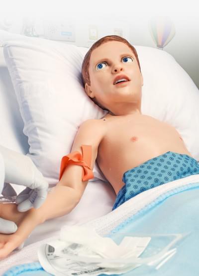 S2225 – Pediatrický pacientský simulátor HAL – päťročné dieťa