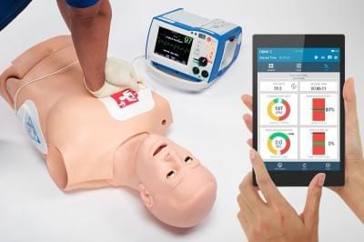 HAL® Trenažér dospelého CPR+D pre výučbu KPR + OMNI2