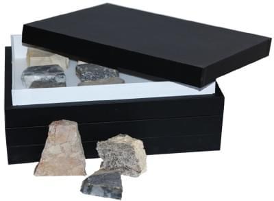 Zbierka hornín - (2 krabice)