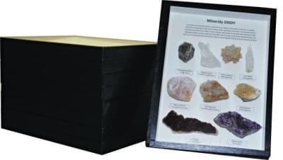 Zbierka minerálov - (5 krabíc)