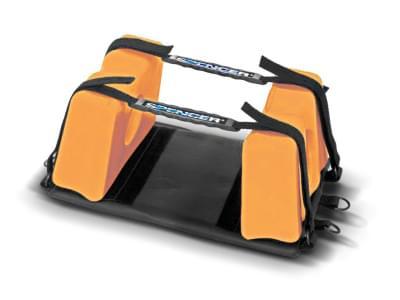 Super Blue- kompaktný univerzálny fixátor hlavy (oranžový)