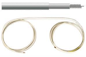 Topný kabel - WKG00401, max 400 °C, 150W/m, 2,0 m