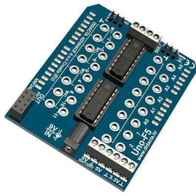 Arduino UNO-F5 - FT adaptér pro mikrokontrolér Arduino UNO